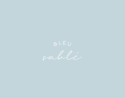 BISCUIT bleu sablé