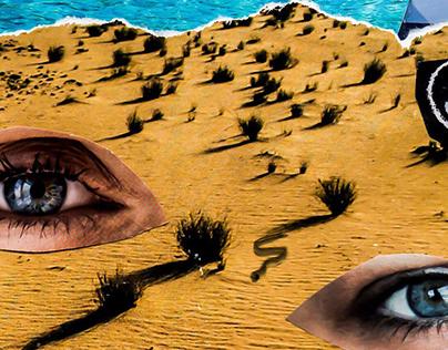 SNAKEWAYS - Surreal Desert Scene