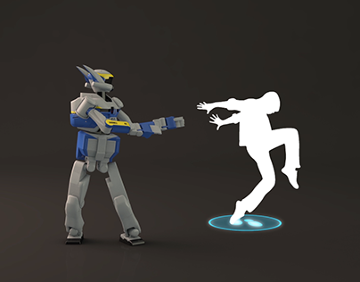 SCIENCE ANIMATION : DANCING ROBOT