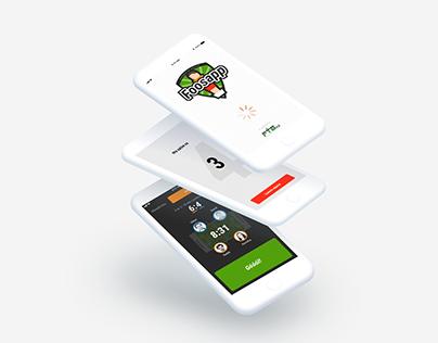 Foosapp - Foosball sport app design case study
