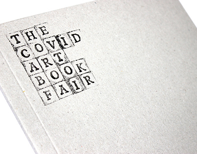 The Covid Art Book Fair / Book-set : Posters and zines