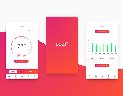 Mobile Thermostat Concept