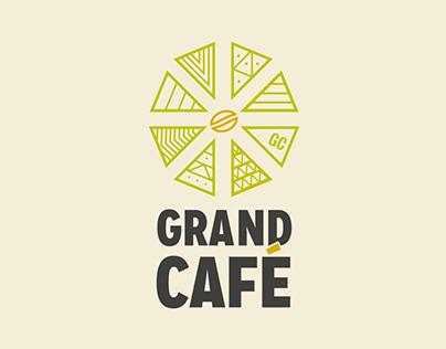Grand Café Branding - YCN Student Awards 2015-16