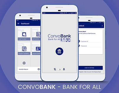 ConvoBank - Xamarin Application