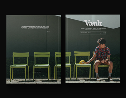 Vault Magazine Issue 00