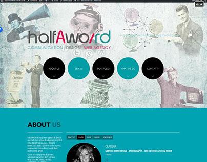 GRAPHIC & WEB DESIGN © Halfaword