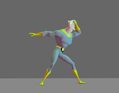 Walk to Run Animation