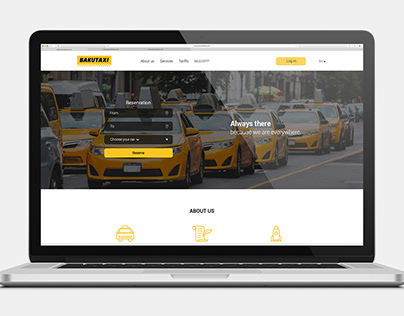 Taxi Landing Page