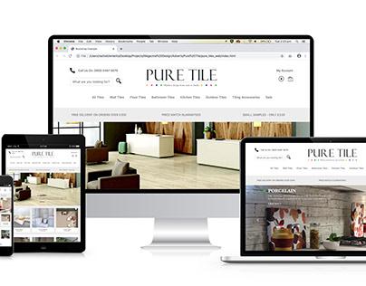 Pure Tile Branding