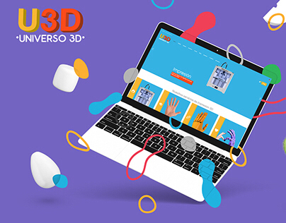 Branding & Web Design for U3D