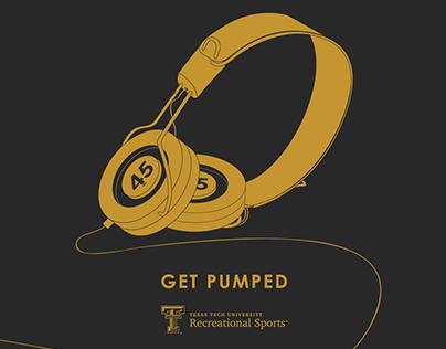 Texas Tech University Intramural Posters