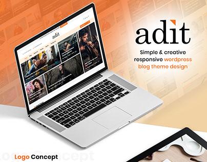 Adit Wordpress Blog Theme
