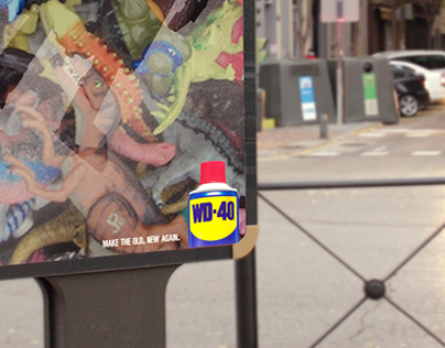 WD-40 - Make the old, new again.