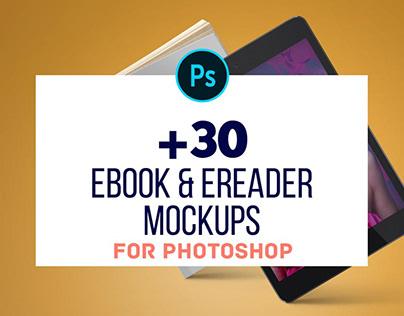 30+ Best Free & Premium eBook Mockups