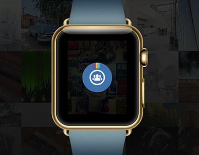 Insta Mutual iWatch App Concept