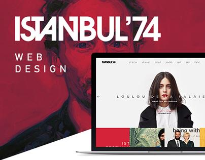 ISTANBUL 74 New Web Design