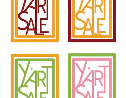 Y'Art Sale Logos