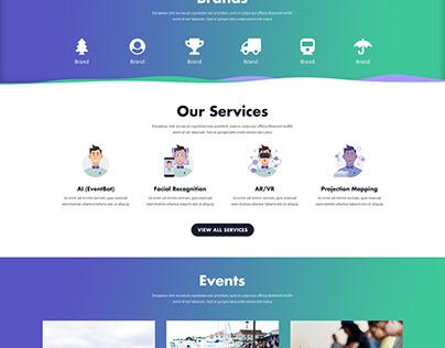 Event Intelligence Website Design