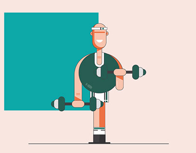 Rebalance Social Media Illustrations