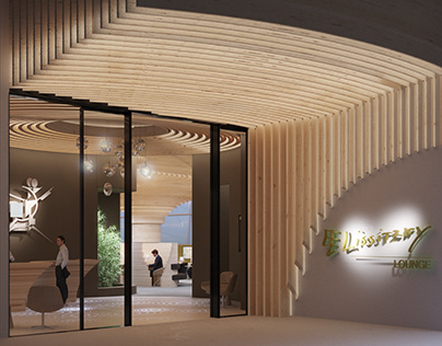 2020: El Lissitzky business lounge by M+R