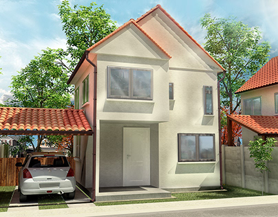 Visualización Arquitectónica 3D | House Vinilit