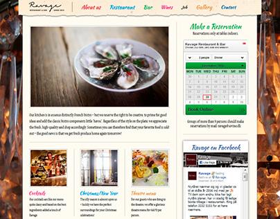 Ravage - Web design for Wordpress