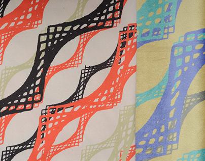 Digital print-Colourways 'Nostalgia'