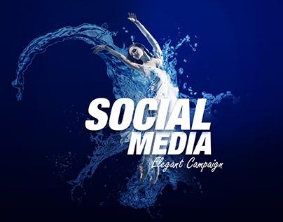 Social Media Elegant Campaign's