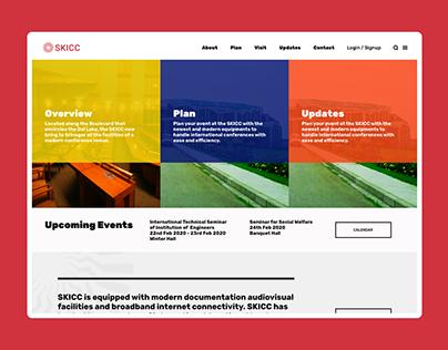 SKICC Homepage Concept Design