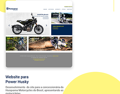Website para Power Husky