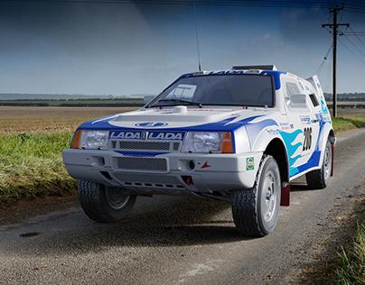 Lada Samara T3 Dakar