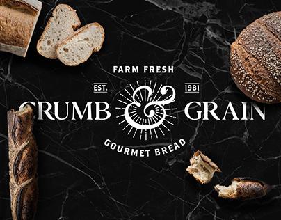 Crumb & Grain Brand Identity