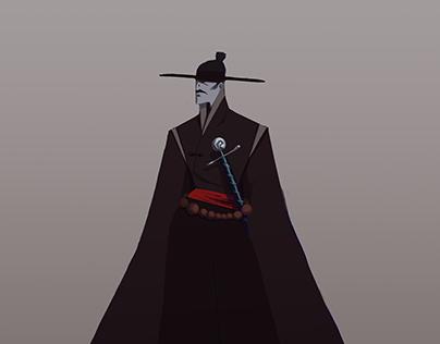 Antagonist/Protagonist Character Designs