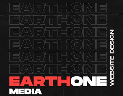 EarthOne Media - Website Design