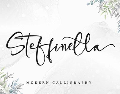 STEFFINELLA    MODERN CALLIGRAPHY
