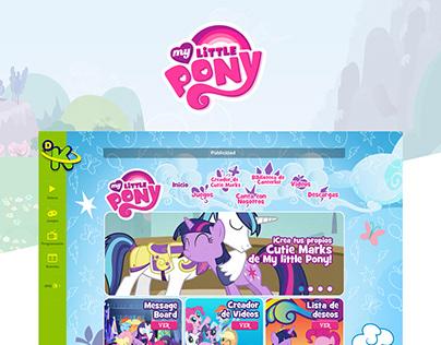 My Little Pony - Web Design