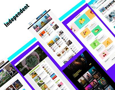 Independent-Multipurpose Blog & Magazine theme
