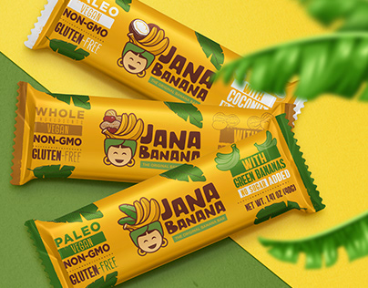 Jana Banana - Branding & Packaging
