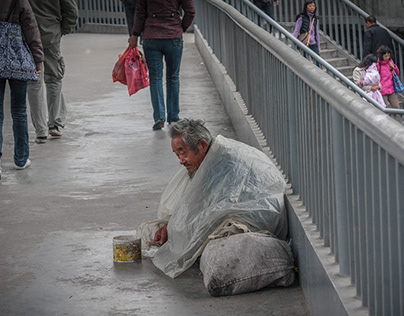 Lonely and homeless ...