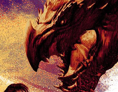 Monster Hunter - Poster Design