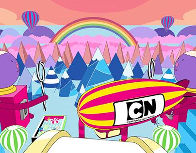 Cartoon Network Channel Branding