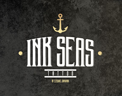 INK SEAS Tattoo - Logo & Branding