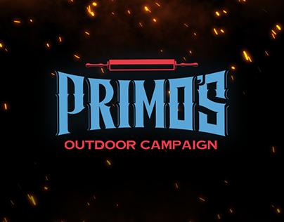 Primo's pizza outdoor campaign