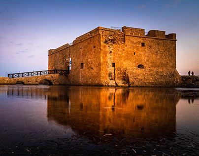 Castle in Paphos, Cyprus
