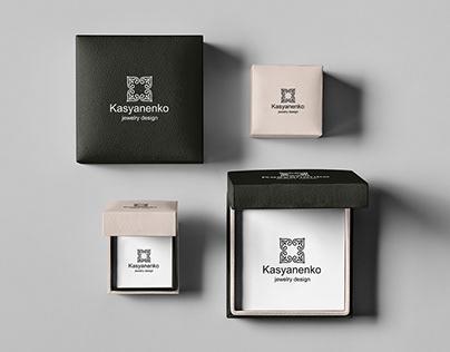 Logotype for the Kasyanenko jewelry design
