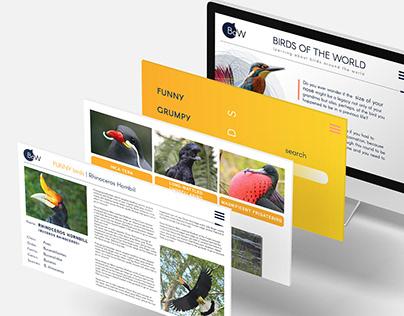 UX Design - Mockup Website