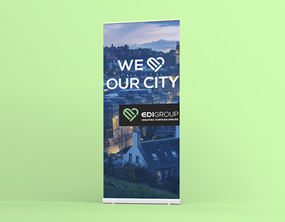 Rollup banners design