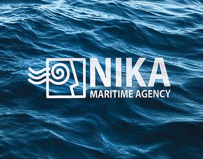Nika-maritime | web + brand