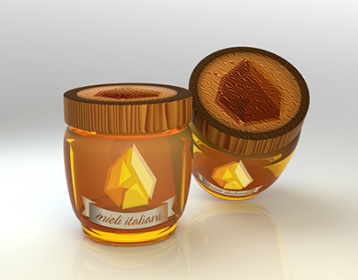 Mieli Italiani - Logo e Packaging