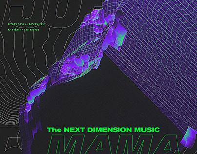 Broadcast Design for '2019 Mnet Asian Music Awards 1st